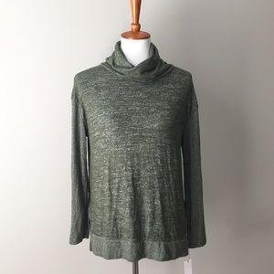 Sonoma Super Soft Olive Green Pullover Sweater